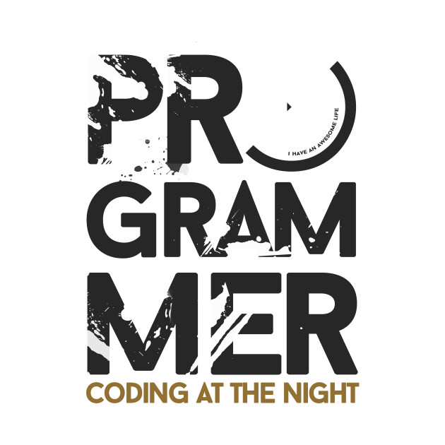 programmer - coding at the night