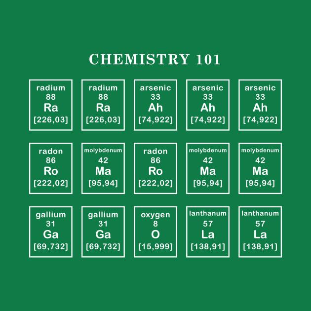 Chemistry Class 101 T-Shirt