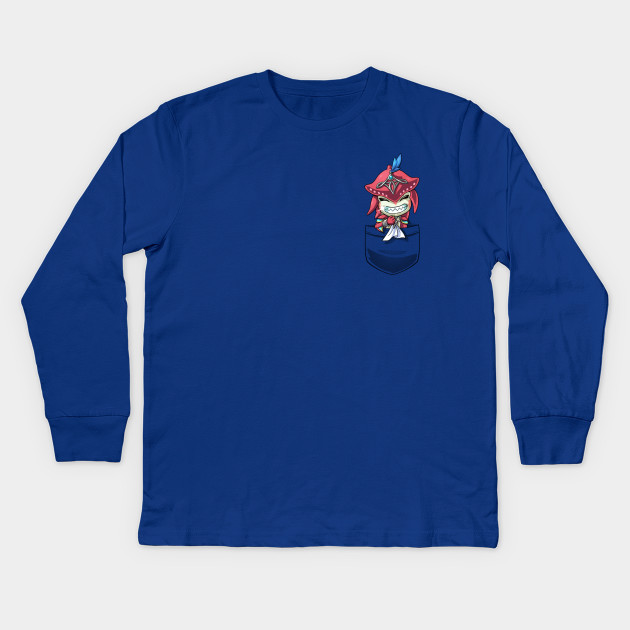 a523dc1074ef Pocket Baby Sidon Breath of the Wild Champion tshirt Kids Long Sleeve  T-Shirt