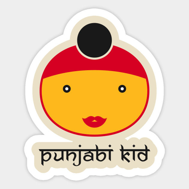 2cc52192 Punjabi Kid - Cute Punjabi Kid Funny Little Kids Sihk Hindu Turban ...