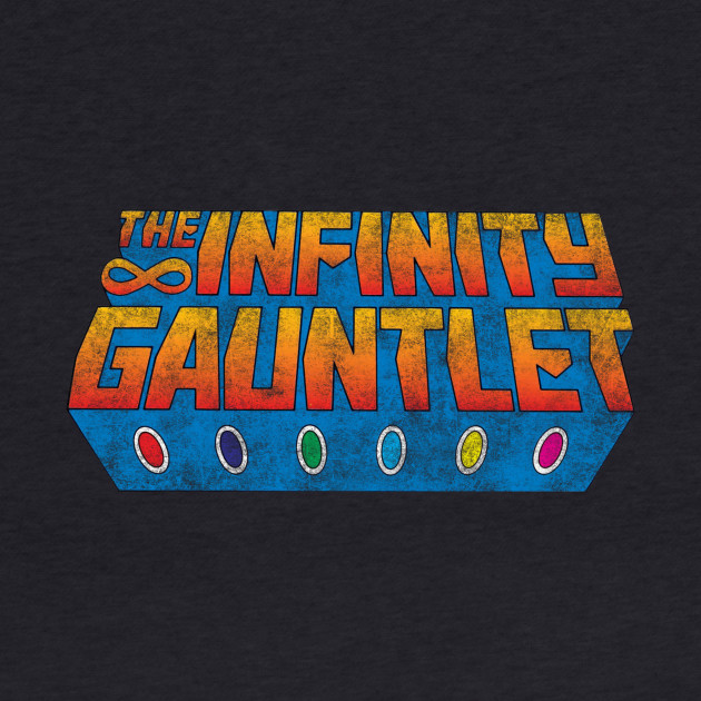 Infinity Gauntlet - Classic Title - Dirty