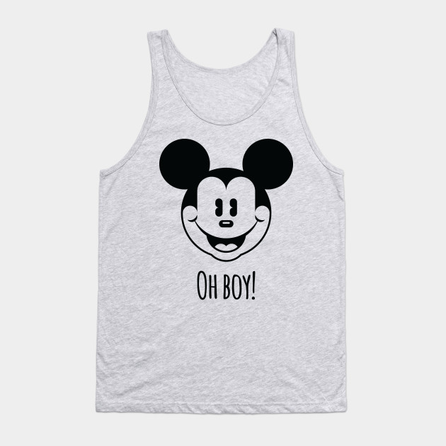 c519ae688f3a31 Mickey Mouse (outline) - Mickey Mouse - Tank Top