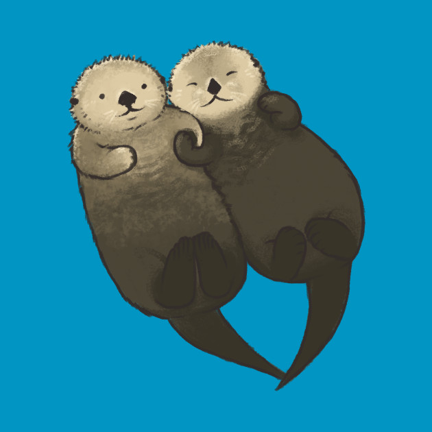 Significant Otters - Otters Holding Hands