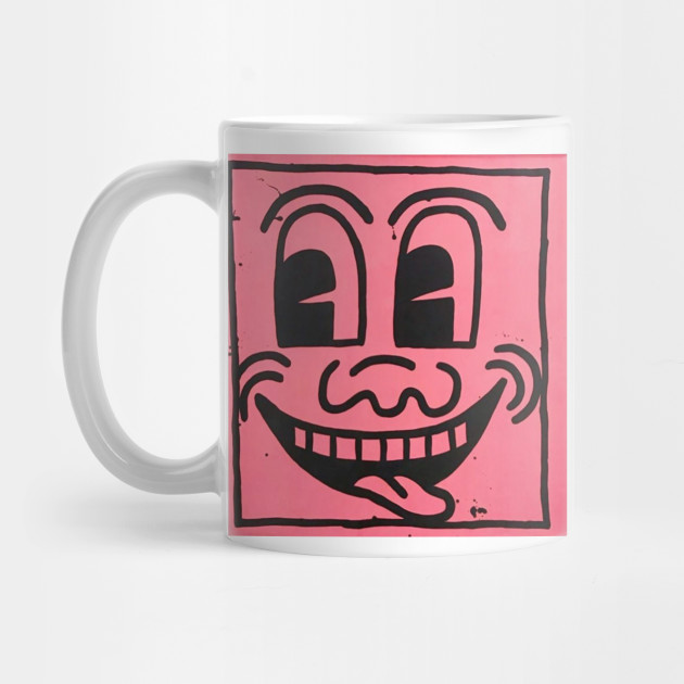 keith haring smiley Mug