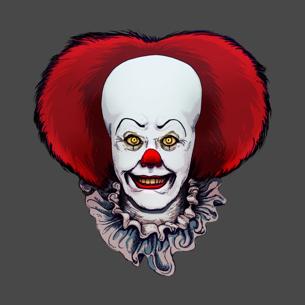 it pennywise it pennywise pillow teepublic