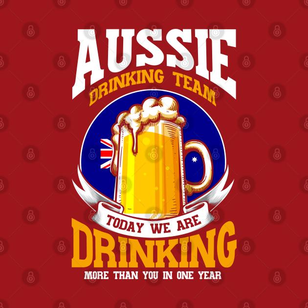 Beer Australian Flag Australia Gift