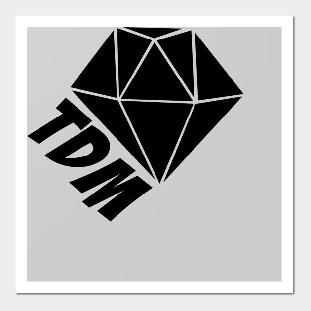 DANTDM Saying The Diamond - Youtubers - Wall Art | TeePublic