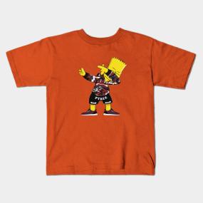 2c94e074e869 Camisetas Para Niños Bart Simpson   TeePublic MX