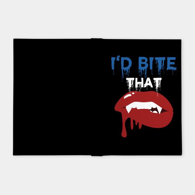 I'd Bite That Vampire Halloween Costume Shirt
