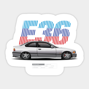 M3 Stickers Teepublic