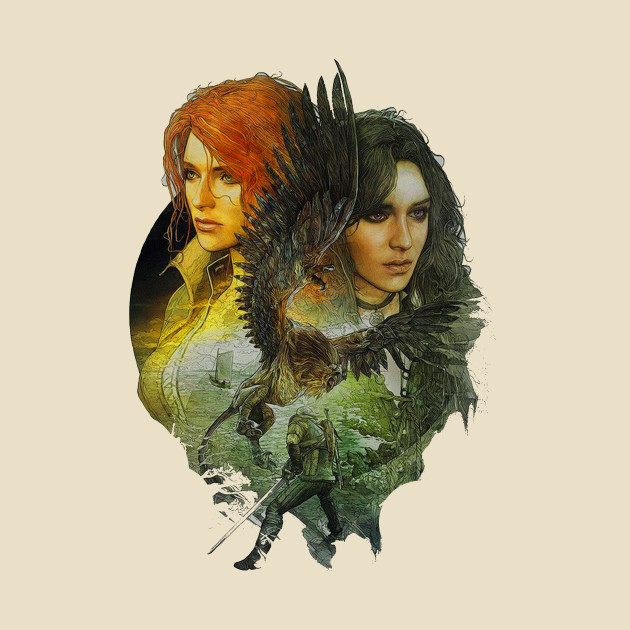The Witcher 3 Yennefer Triss Merigold