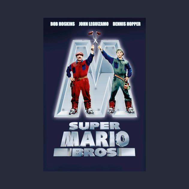 Super Mario Bros Movie Poster 1