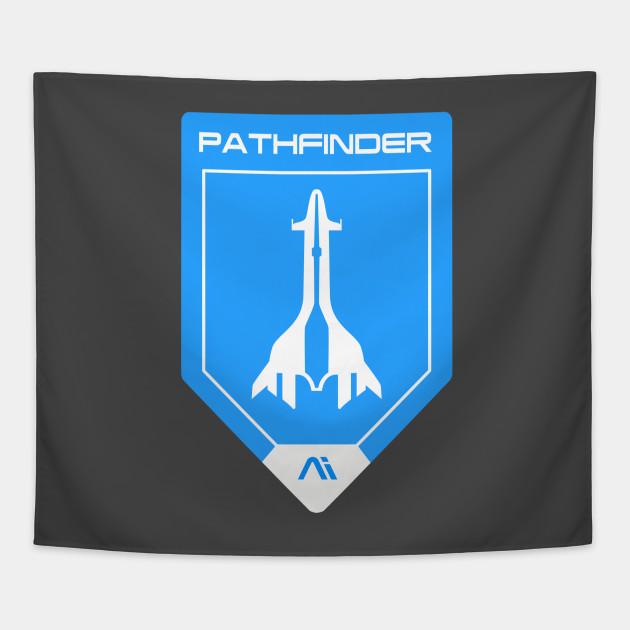 Ai Pathfinder Mass Effect Andromeda Tapestry Teepublic