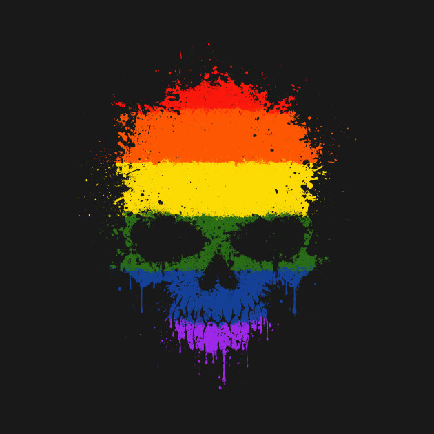 t shirt print vector design Gay pride flag
