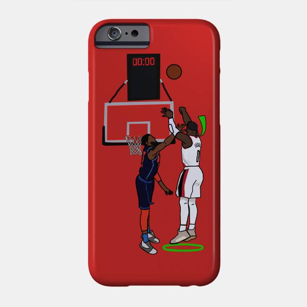 Damian Lillard Hits A Green Light Over Paul George FTW - NBA Portland Trailblazers