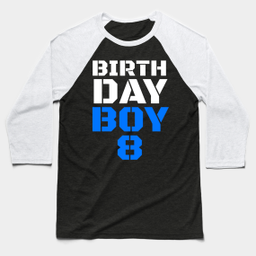 8th Birthday Party Decorations Baseball T Shirts