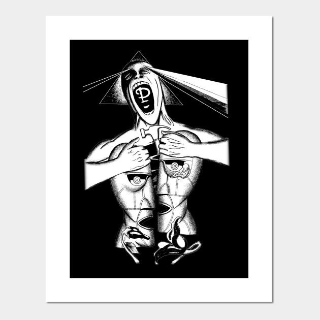 Pink Floyd White Pink Floyd Posters And Art Prints Teepublic