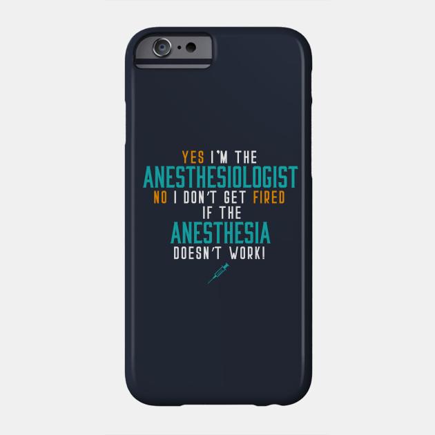 Hospital Anesthesiologist Anesthesiologist Phone Case Teepublic
