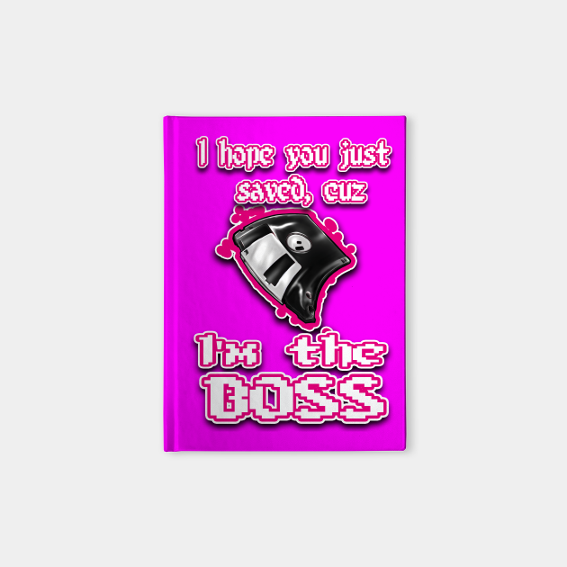 I'm the BOSS.... pink