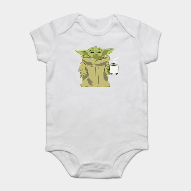 Star Wars Mandalorian Baby Yoda Gerber Onesie