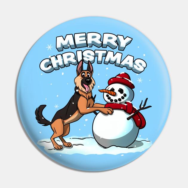 Merry Christmas German Shepherd