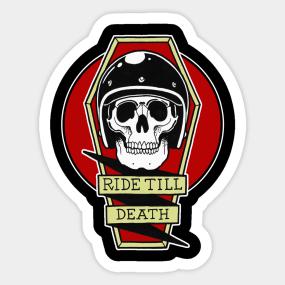 motorcycle helmets stickers teepublic