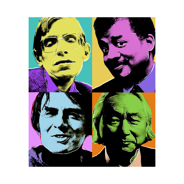 The Fab Four Physicists