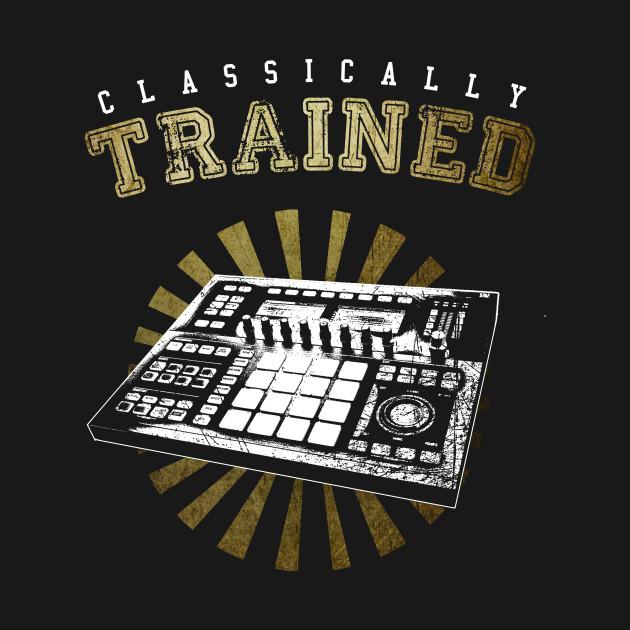 Classically Trained NI Maschine t-shirt