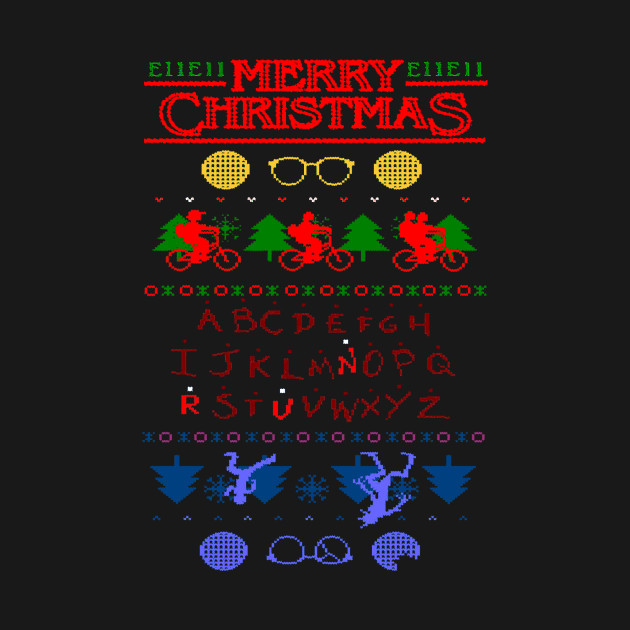 STRANGER THINGS CHRISTMAS