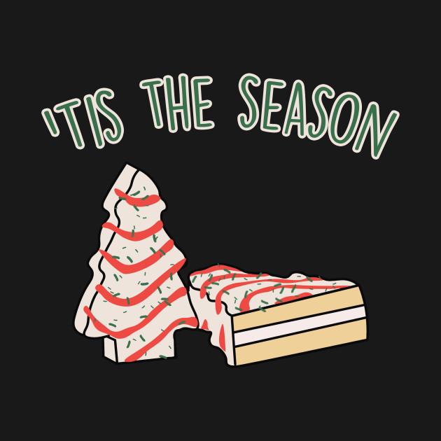 'Tis The Season Little Debbie Inspired Christmas Tree Snack Cake