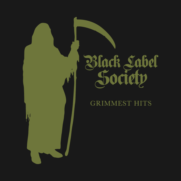 grimmest hits from black label society grimmest hits from black label society t shirt. Black Bedroom Furniture Sets. Home Design Ideas
