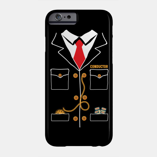 Train Conductor Funny Halloween Costume Phone Case