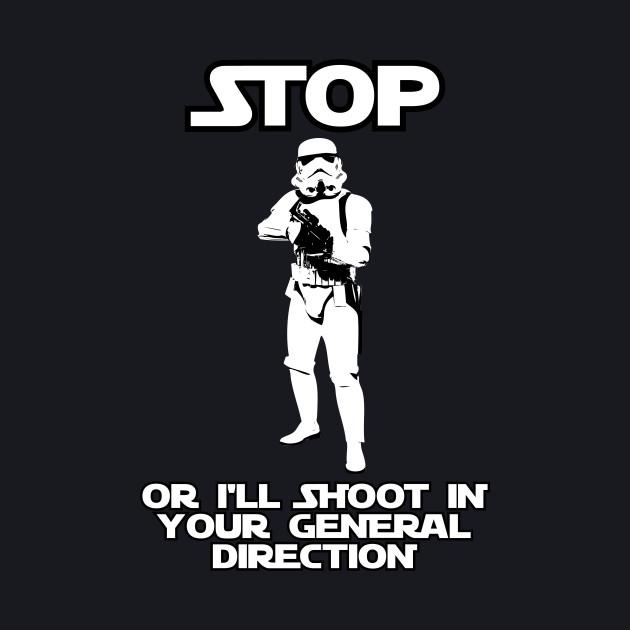 Stormtrooper Will Shoot!