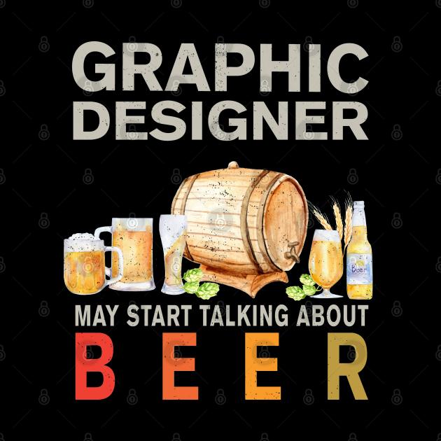 Graphic Designer Beer Lover Shirt, Graphic Designer Mask, Graphic Designer Stickers & Gifts