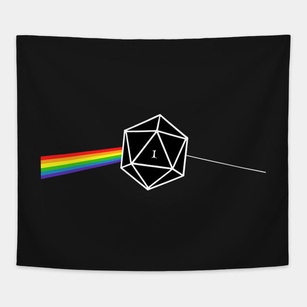 Dungeons And Dragons D20 Fail Pink Floyd