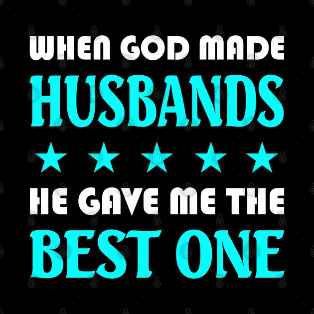 God Gave me the Best Husband - Best Husband - Phone Case
