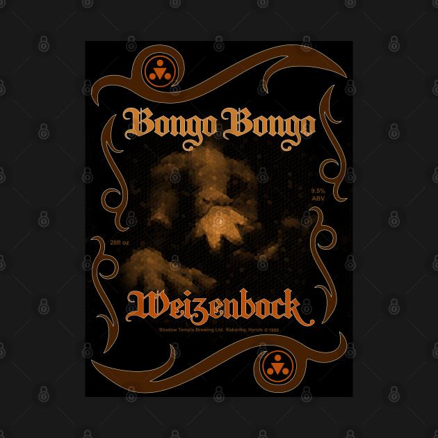 Bongo Bongo Weizenbock (Sepia)