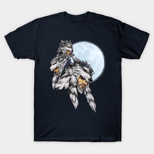 5de0ee64 Three Wolf Moon - Hanzo - Overwatch - T-Shirt   TeePublic