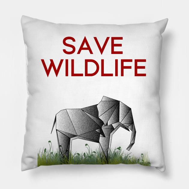 Save Wildlife - Origami Elephant
