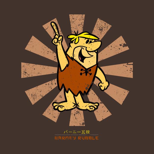 Barney Rubble Retro Japanese Flintstones