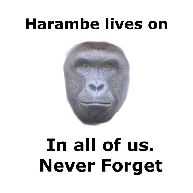 Harambe lives on