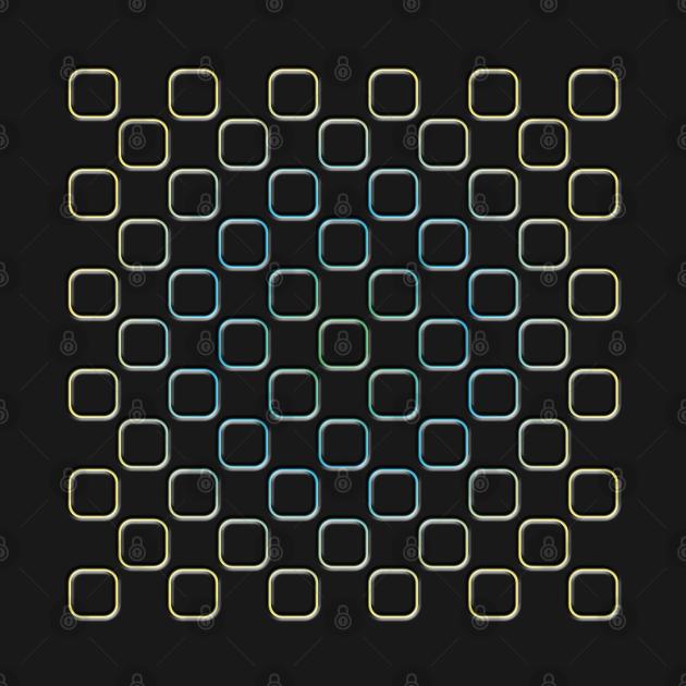 Embossed Square Motif 04