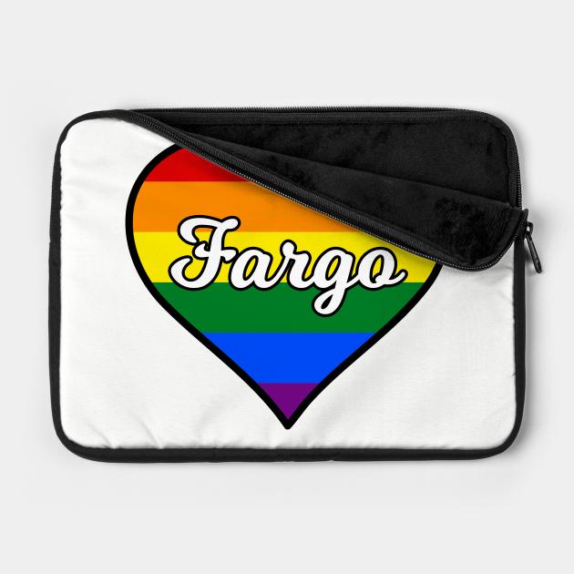 Fargo North Dakota Gay Pride Heart