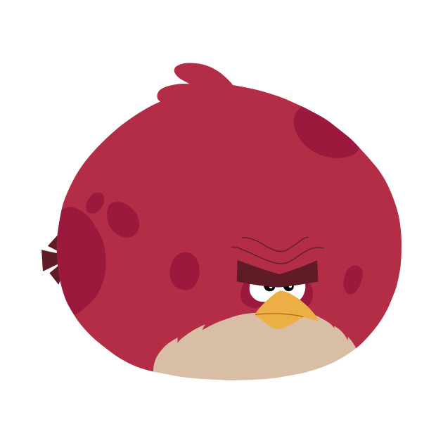 angry birds big red angry birds t shirt teepublic. Black Bedroom Furniture Sets. Home Design Ideas