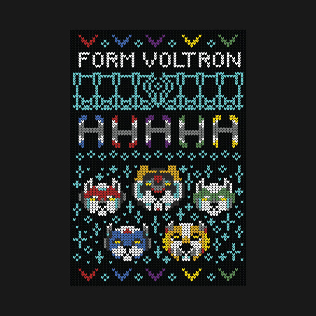Ugly Voltron Holiday Sweater