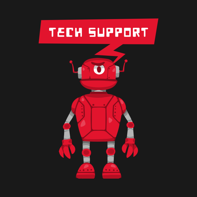 Robot Tech Support