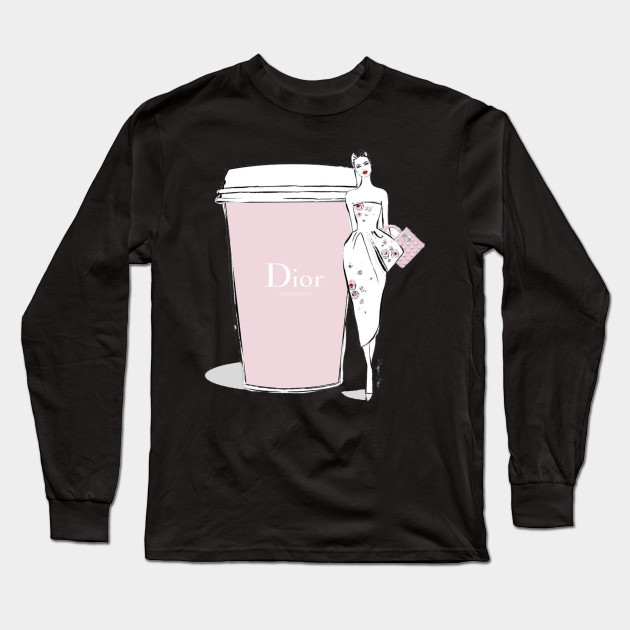 f45e13bd Dior Cup Women Tshirt - Dior Cup Women - Long Sleeve T-Shirt | TeePublic