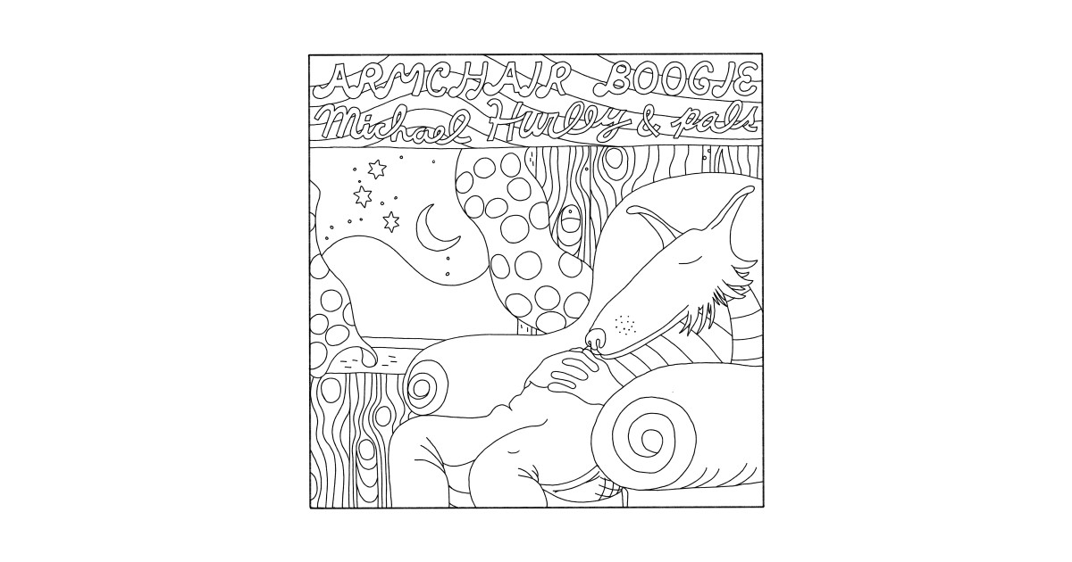 ARMCHAIR BOOGIE - Michael Hurley - T-Shirt | TeePublic