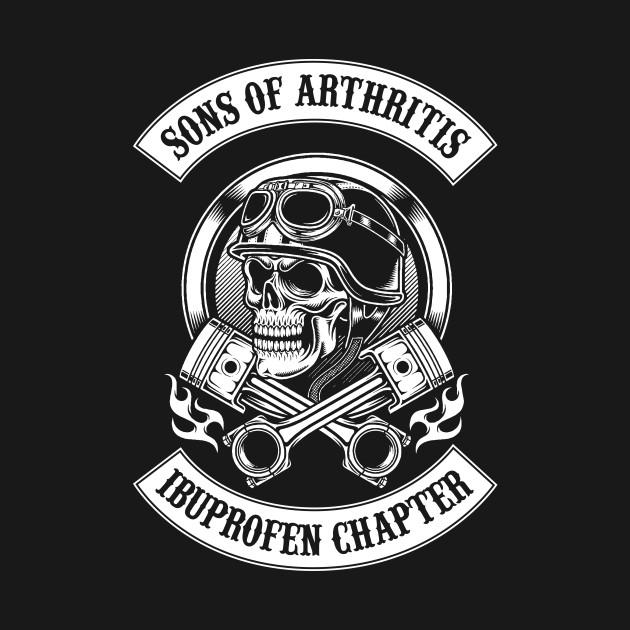 son of arthritis biker t shirt teepublic. Black Bedroom Furniture Sets. Home Design Ideas