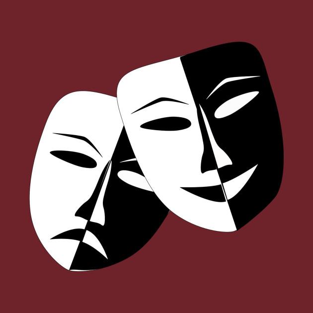 Image result for comedy tragedy masks